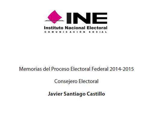 Memoria Proceso Electoral Federal