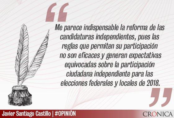 Candidaturas independientes, a debate